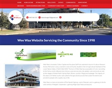 Wee Waa, Narrabri and Walgett