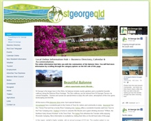 St George QLD Website