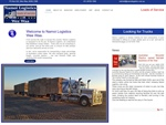 Namoi Logistics now has a website