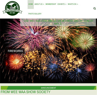 Wee Waa Show Society have added a shop to their website