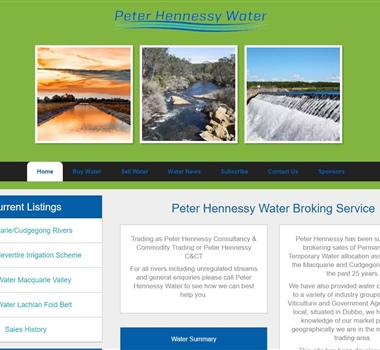 Peter Hennessy Water