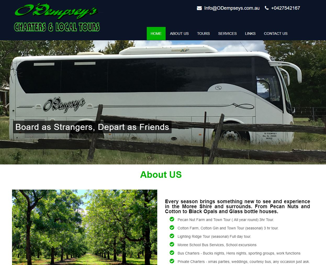 Odempsey's Bus Service